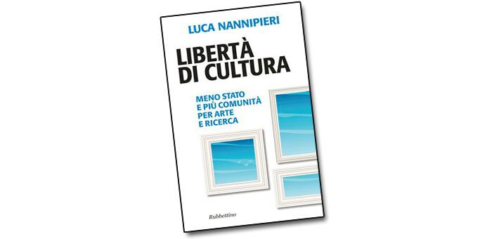 """Presentazione del libro """"LibertAi?? di cultura"""" di Luca Nannipieri."""