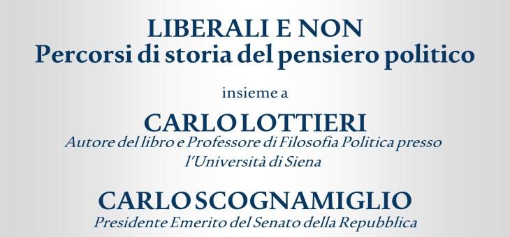 """26 maggio 2014 – Presentazione del libro """"Liberali e non"""" di Carlo Lottieri"""