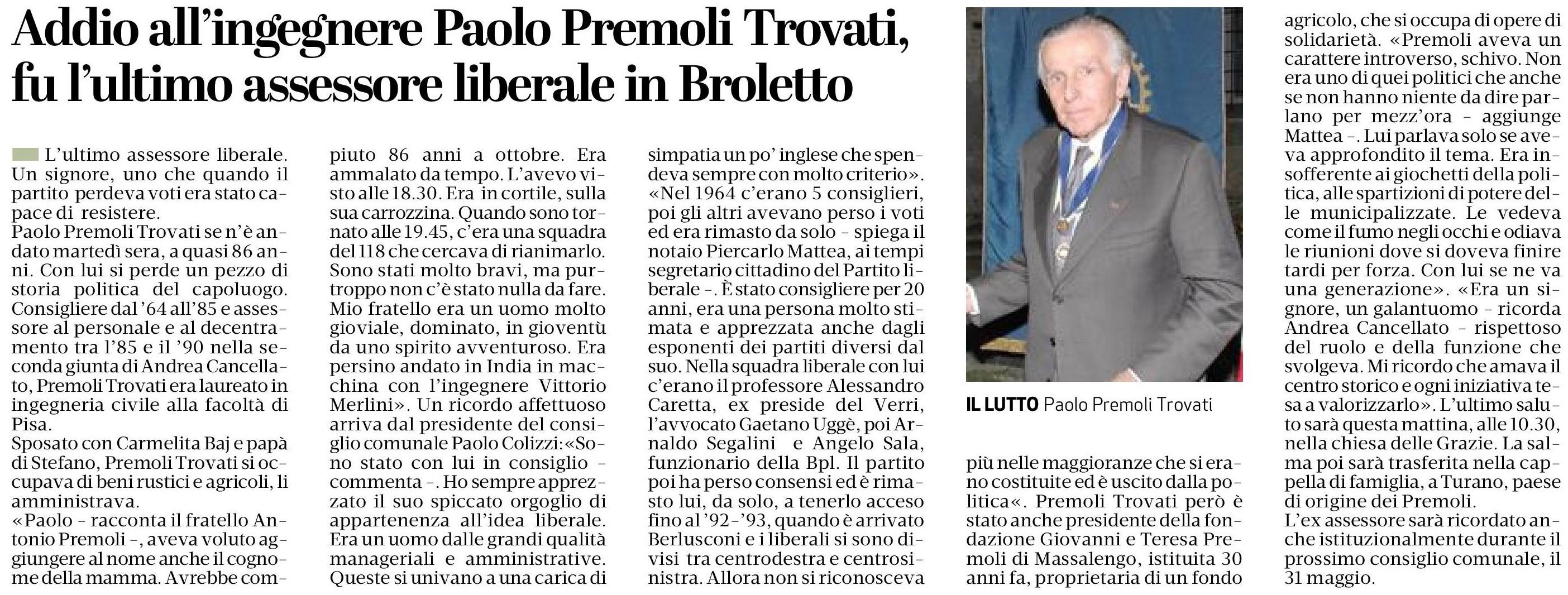 Associazione Lodi Liberale Paolo Premoli Trovati