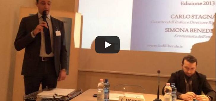 Indice delle liberalizzazioni 2013 – Carlo Stagnaro, Simona Benedettini – 18 dicembre 2013