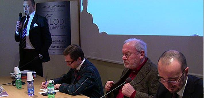 """Evento inaugurale e presentazione del libro """"L'intelligenza del denaro"""" di Alberto Mingardi"""