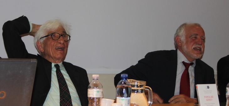 """Presentazione del libro """"Popolari addio? Il futuro dopo l'abolizione del voto capitario"""" di Franco Debenedetti e Gianfranco Fabi"""