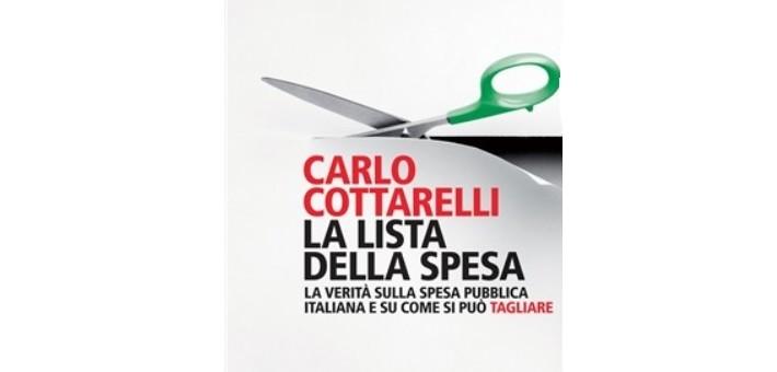 """Recensione del libro """"La lista della spesa"""" di Carlo Cottarelli"""