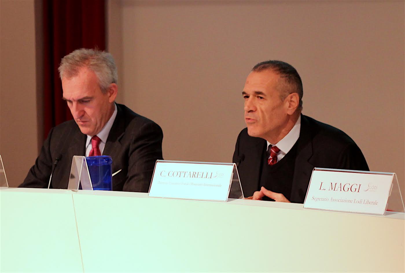 """Associazione Lodi Liberale - Presentazione del libro """"La lista della spesa"""" di Carlo Cottarelli"""