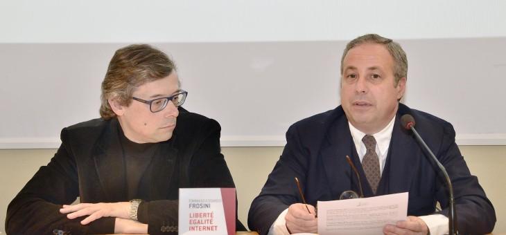 """Presentazione del libro """"Libertè, egalitè, internet"""" di Tommaso Edoardo Frosini"""