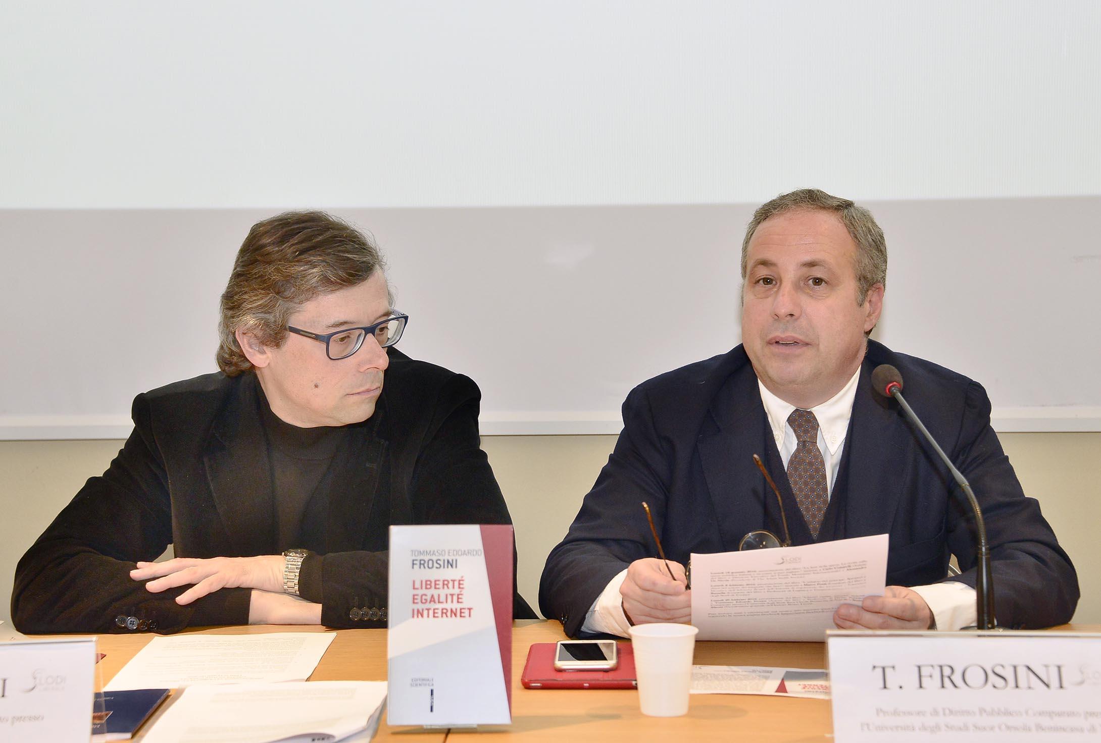 """Associazione Lodi Liberale - Presentazione swl libro """"LibertAi??, egalitAi?? e internet Tommaso Edoardo Frosini"""
