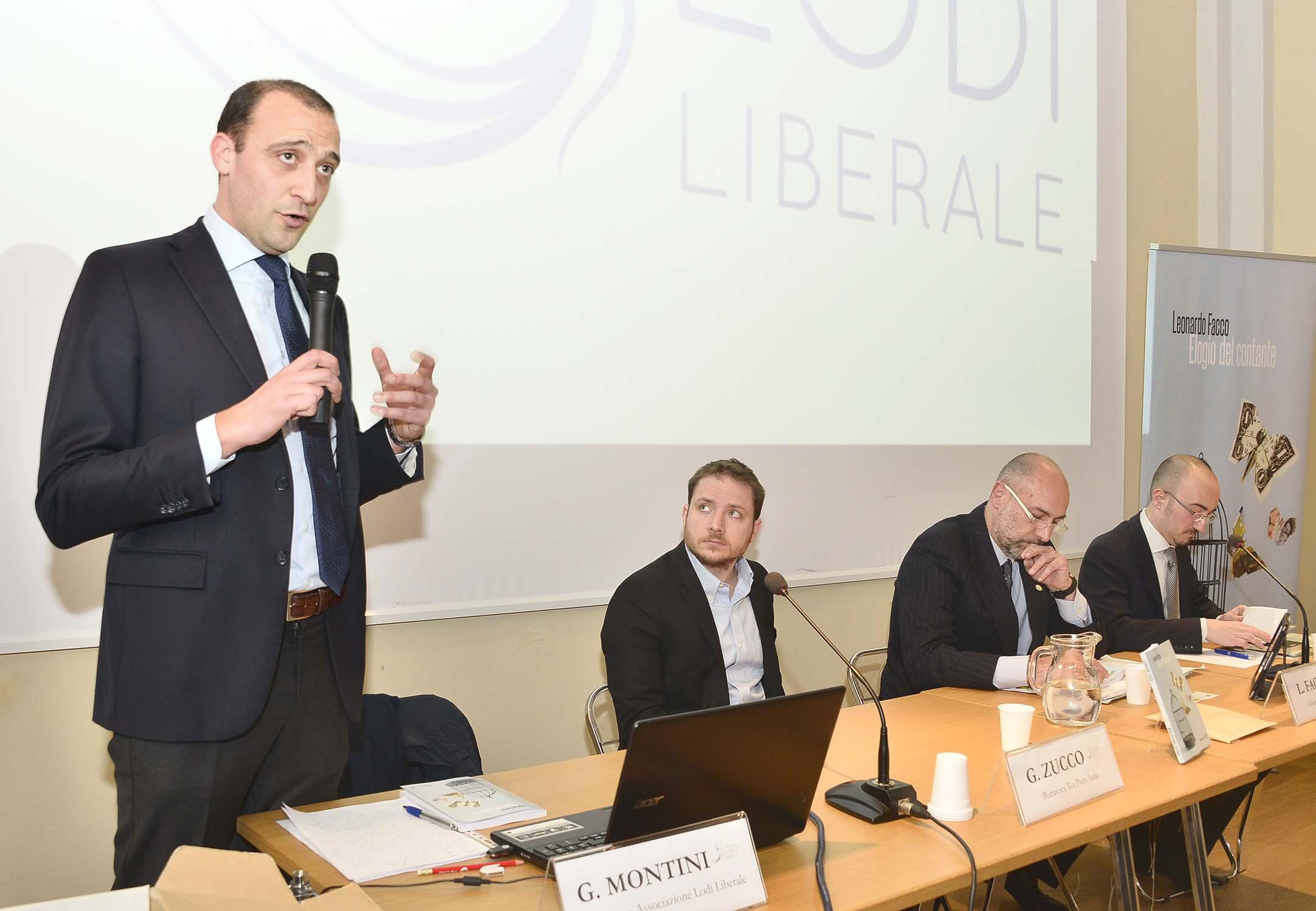 """Associazione Lodi Liberale - Presentazione del libro """"Elogio del contante"""" di Leonardo Facco"""