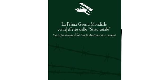 """Recensione del libro """"La Prima Guerra Mondiale come effetto dello """"Stato totale"""" di Don Beniamino Di Martino"""