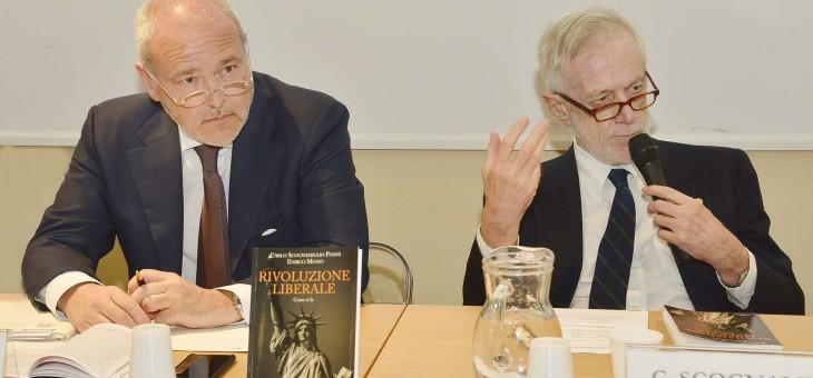 """Presentazione del libro """"Rivoluzione liberale. Come si fa"""" di Carlo Scognamiglio Pasini e Enrico Musso"""