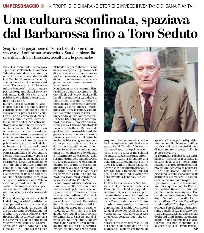 Associazione Lodi Liberale - Professor Alessandro Caretta