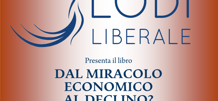 """LunedA� 17 ottobre 2016 – Presentazione del libro """"Dal miracolo economico al declino?"""" di Vito Tanzi"""