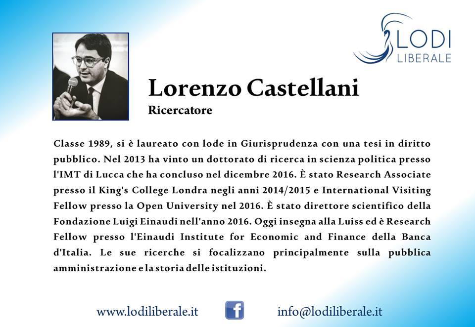 """Associazione Lodi Liberale - Presentazione del libro """"Il potere vuoto"""" Lorenzo Castellani, Ferruccio de Bortoli Maggi Montini"""