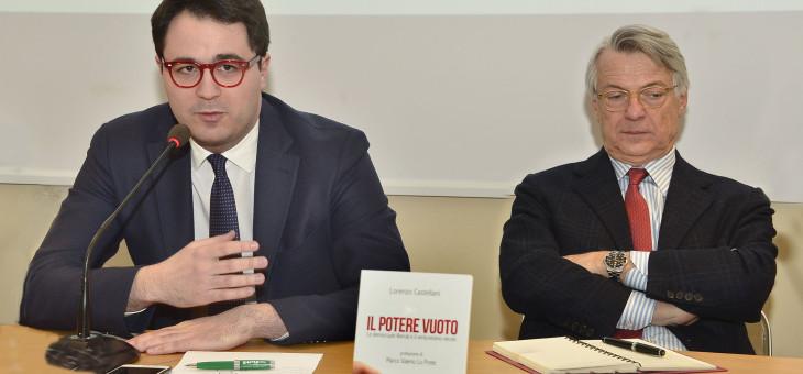 """Presentazione del libro """"Il potere vuoto"""" di Lorenzo Castellani"""