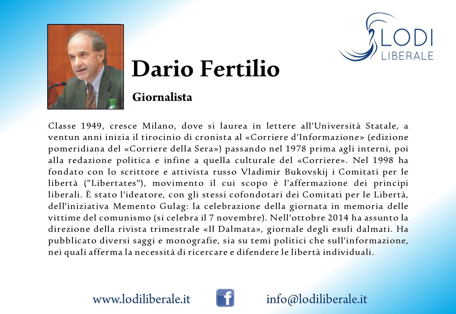 Dario Fertilio Lodi Liberale