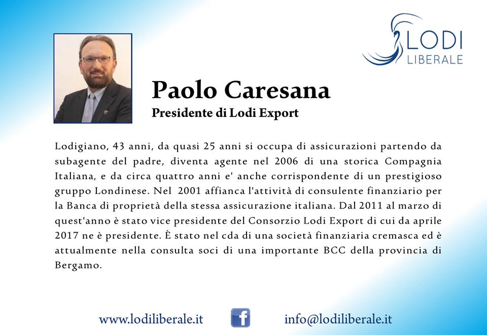 Lodi Liberale Paolo Caresana