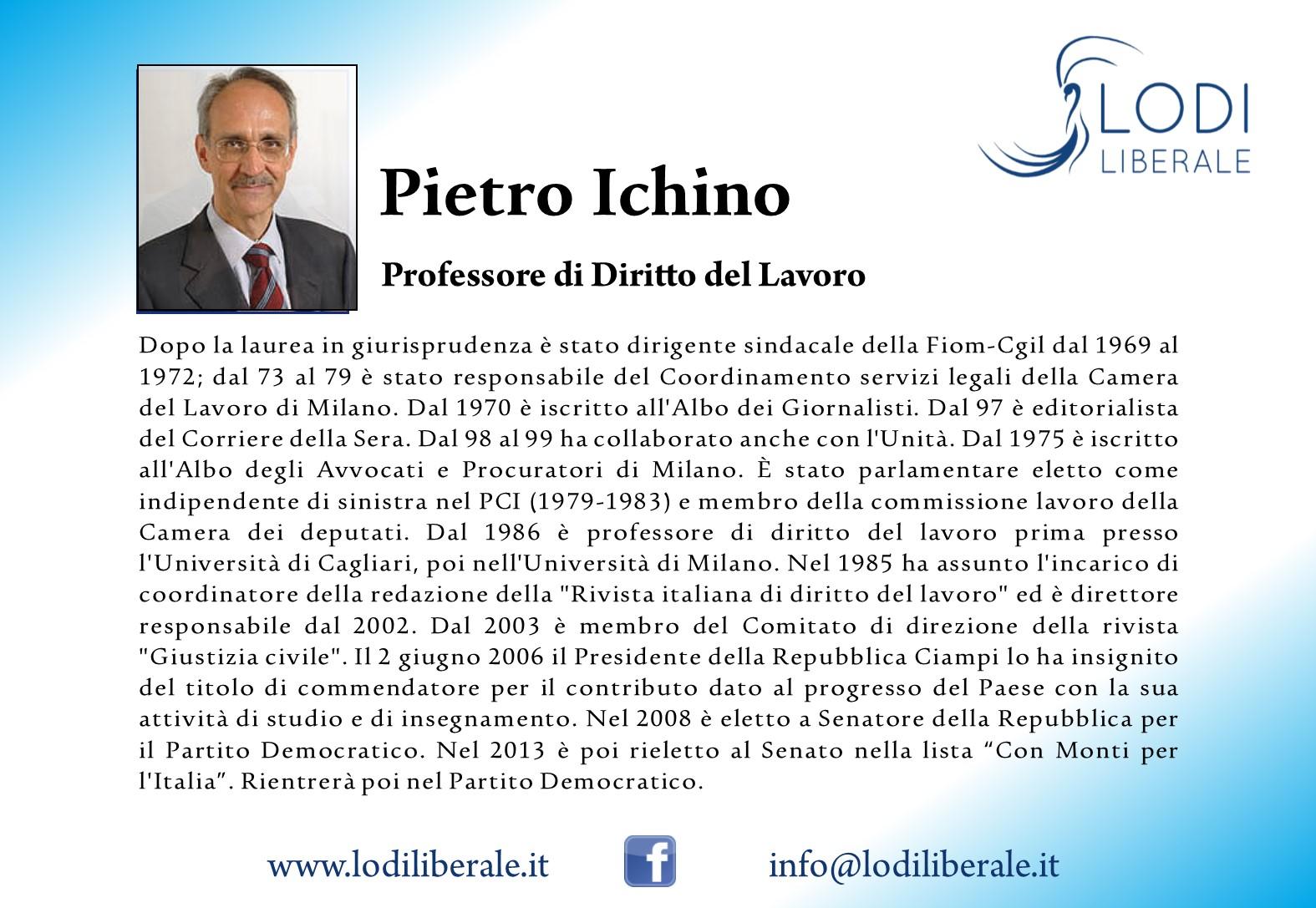 Lodi Liberale Pietro Ichino