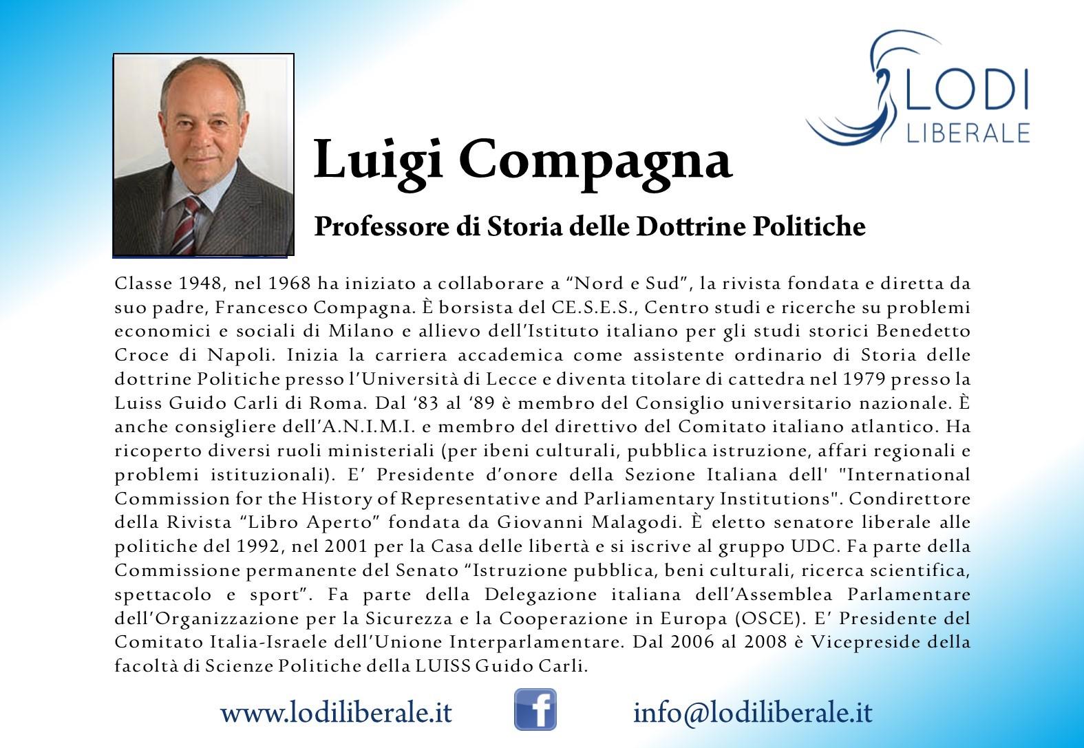 Luigi Compagna Lodi Liberale