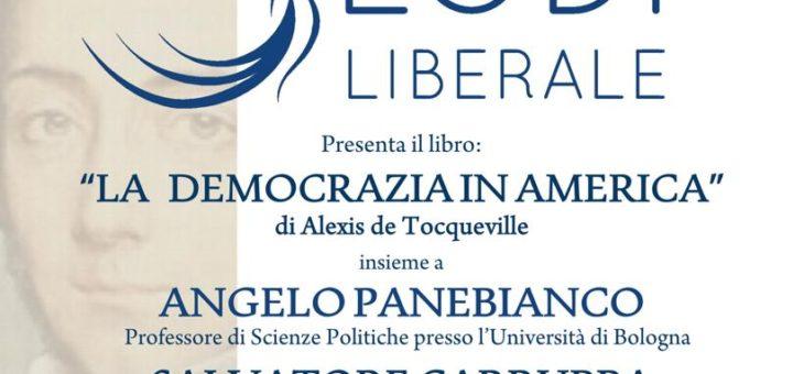 """Lunedì 5 ottobre presentazione del libro """"La democrazia in America"""""""