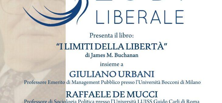 """Lunedì 15 febbraio presentazione del libro """"I limiti della libertà"""""""